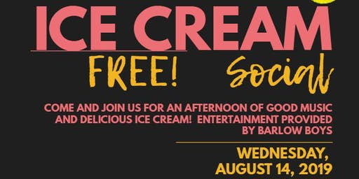 Seniors Afternoon Out 2nd Annual Ice Cream Social
