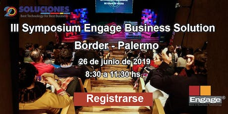 III Symposium Engage Business Solution entradas
