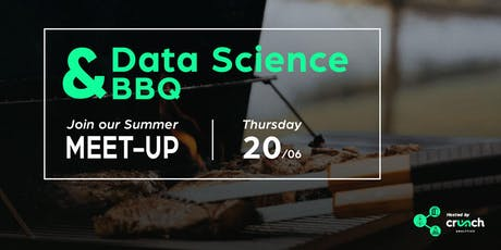 Data Science Ghent Meet-Up + BBQ hosted by Crunch Analytics tickets