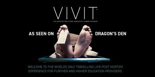 The VIVIT Experience | Enhanced Undergraduate Post Mortem | Manchester 20/10/19