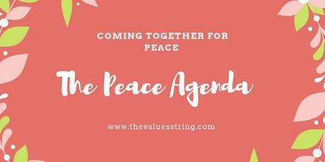 The Peace Agenda tickets
