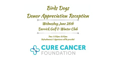 Bird Dogs Donor Appreciation Reception tickets