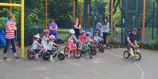 Let's Ride Pop Up - Ready Set Ride - Balance Bike (LEARN TO RIDE) Drop In