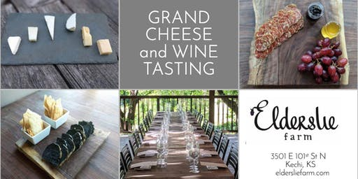 Grand Cheese and Wine Tasting (Registration)