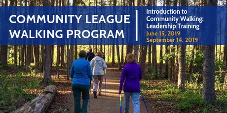 Introduction to Community Walking: Leadership Training  tickets