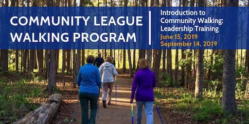 Introduction to Community Walking: Leadership Training