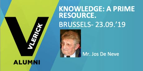 Knowledge: A Prime Resource in the organisation and in society. tickets