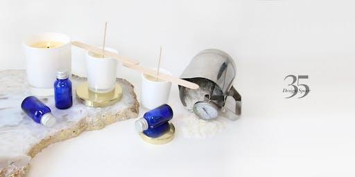 Vegan Candle Making with Tea & Cake 03/08/19