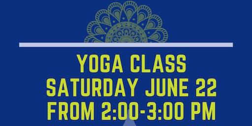 Live Well Omaha and InCommon Yoga Class