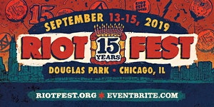 RIOT FEST 2019 I 3-DAY PASS