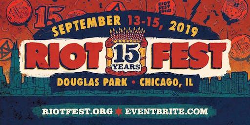 RIOT FEST 2019 I 3-DAY PASS