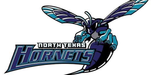 North Texas Hornets youth football organization cheer and football camp