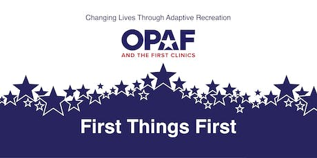 First Things First - University of Pittsburgh - Professional Registration tickets