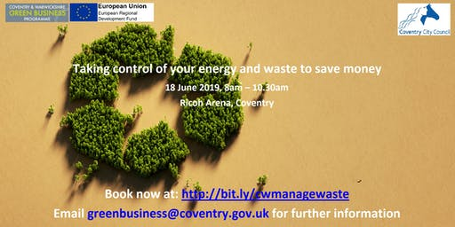 Taking control of your organisations energy and waste to save money