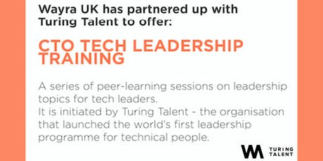 CTO Tech Leadership Training tickets