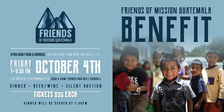 2nd Annual Friends of Mission Guatemala Dinner & Silent Auction tickets