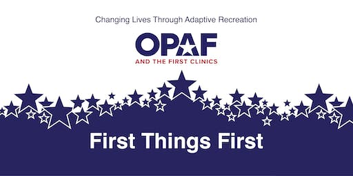 First Things First - University of Pittsburgh - Clinic Participant Registration