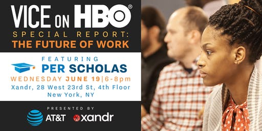 Vice Special Report Live Screening: The Future of Work