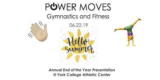 Power Moves Hello Summer End of the Year Presentation