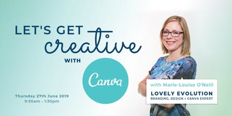 Let's Get Creative With Canva tickets