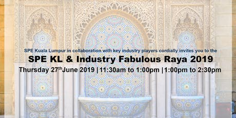 SPE KL & Industry Fabulous Raya 2019 tickets