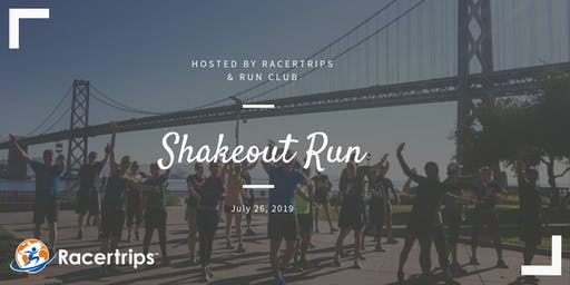 Shake Out Run (& Post Run Happy Hour) with Run Club & Racertrips!