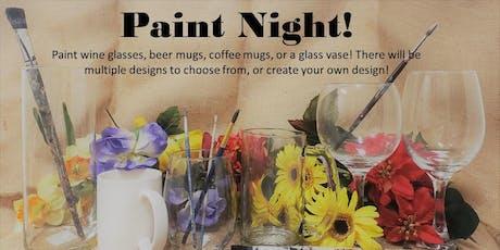 Paint Night Fun! Glass & Ceramic Painting tickets