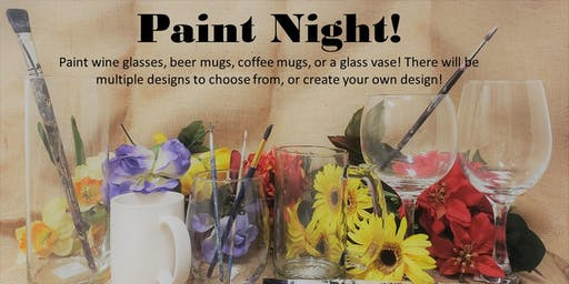 Paint Night Fun! Glass & Ceramic Painting