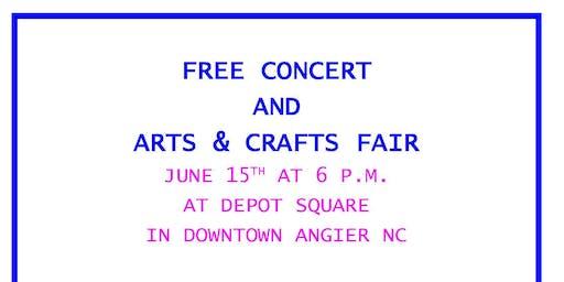 Free Motown & Beach music Concert and Arts & Crafts Fair