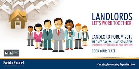 Landlords Forum 2019 tickets