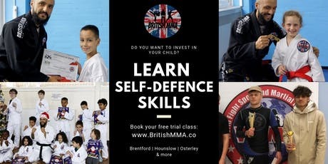 British MMA | Family Club | Learning Self-Defence Skills | Brentford (Mission Hall) tickets
