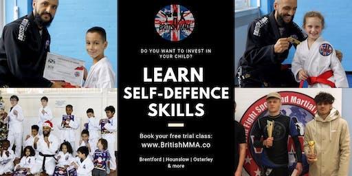 British MMA | Family Club | Learning Self-Defence Skills | Brentford (Mission Hall)