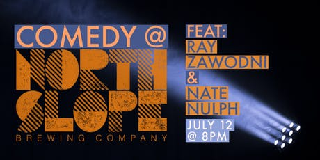 Comedy @ North Slope Brewing Company tickets