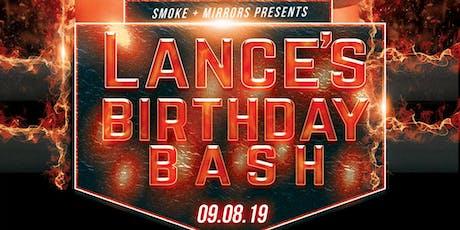 Lance's Birthday Bash tickets