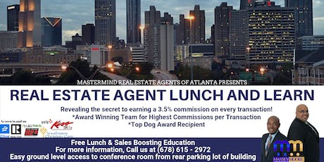 Mastermind Real Estate Agents of Atlanta Lunch and Learn tickets