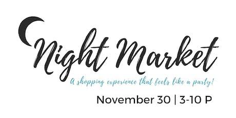 Fall Night Market 2019 Vendor Registration  tickets