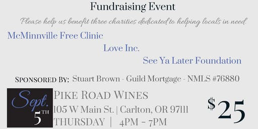 Fine Wine & Food Event for the YCAR Charitable Foundation