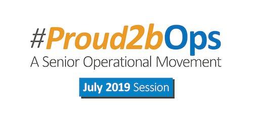 Proud2bOps Session 10 July 2019
