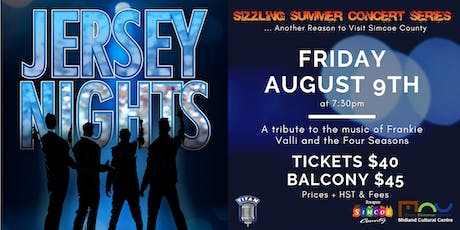 Sizzling Summer Series: Jersey Nights tickets