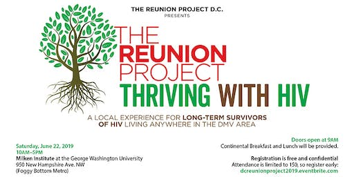 The DC Reunion Project - Thriving with HIV