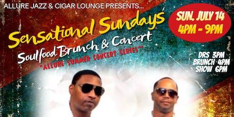 "Sensational Sundays Presents ""INTRO Live"" at Allure Lounge tickets"