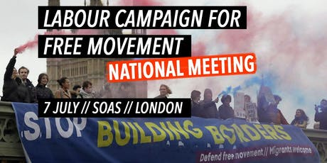 Labour Campaign for Free Movement: National Meeting tickets