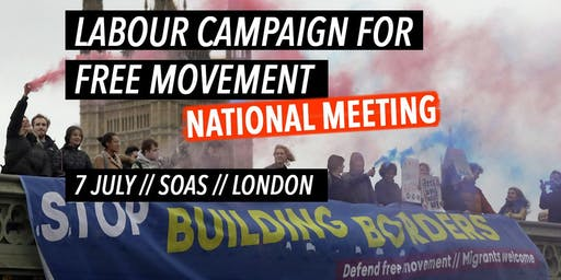 Labour Campaign for Free Movement: National Meeting