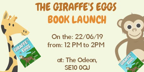 The Giraffe's eggs book launch  tickets