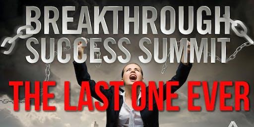 Breakthrough Success Summit - September 21st / 22nd 2019