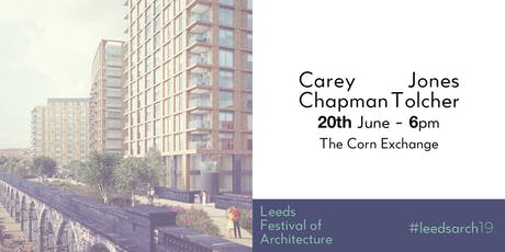 Leeds Festival of Architecture Talk: Carey Jones Chapman Tolcher tickets