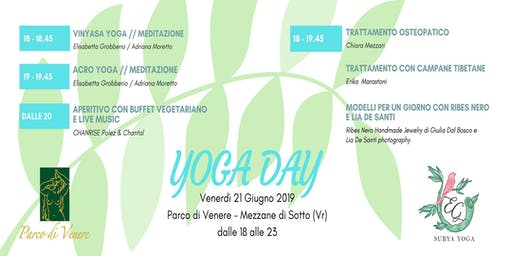 Yoga Day - 21 Giugno 2019