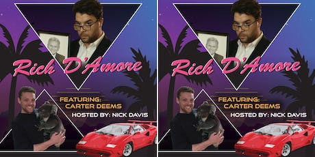 Rich D'Amore and Carter Deems @The Space tickets
