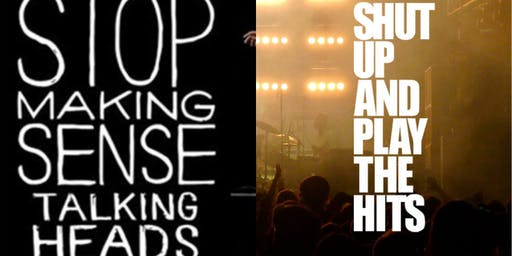 Stop Making Sense & Shut Up And Play The Hits B2B