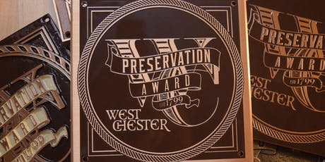 West Chester Preservation Awards 2019 tickets